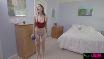 Obscene sex with voyeur